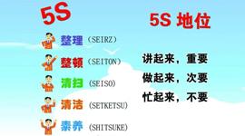 5S现场管理培训